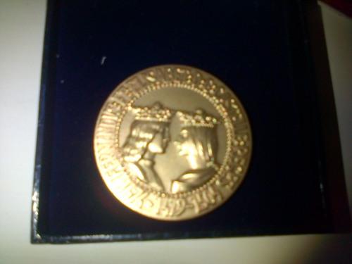 Medalla del foro europeo 2001